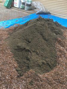 培土+畑の土